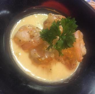 Prawn in Garlic Sauce starter